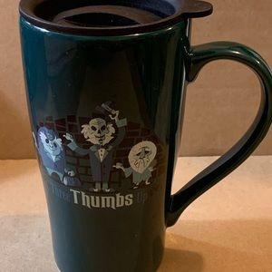 Disney haunted Mansion ceramic coffee mug